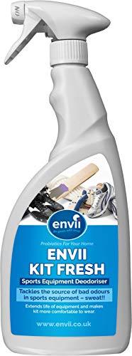 Envii Kit Fresh - Probiotischer Geruchsentferner, Deodorant für die Sportausrüstung - Schuh Deodorant Spray, Reiniger & Geruchsneutralisierer- 750ml