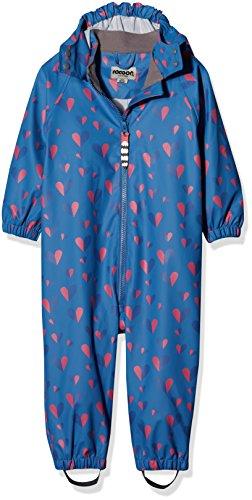 Racoon Racoon Baby-Mädchen Regenjacke PUK Regenanzug (Wassersäule 5000) Mehrfarbig (Pacific Coast Pac) 86