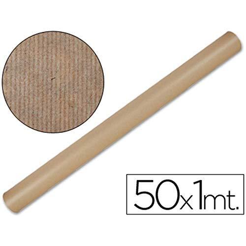 Maildor - Rollo de papel kraft 50 m x 1 m