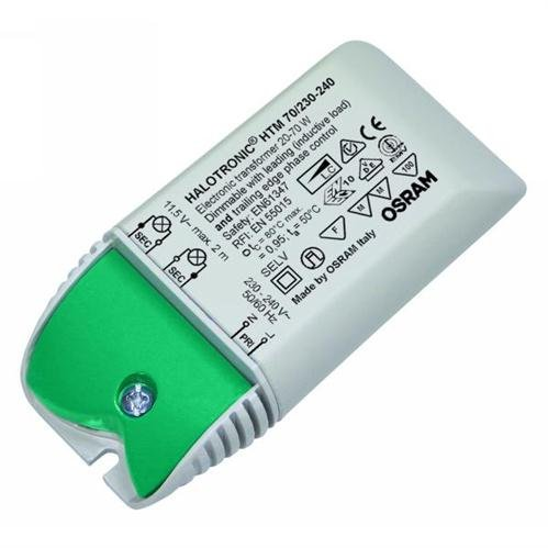 Preisvergleich Produktbild Osram elektronischer Trafo 70VA HTM Maus 20 bis 70 Watt für LED und Halogenlampen mit 12 Volt