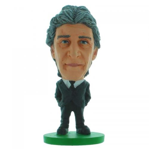 SoccerStarz Manchester City Manuel Pellegrini Suit