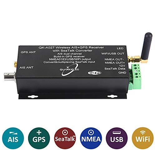 QK-A027 kabelloser AIS + GPS-Empfänger mit SeaTalk Konverter