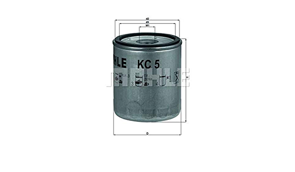 Mahle Knecht Kc 5 Kraftstofffilter Auto