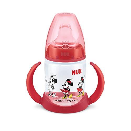 Nuk - Biberón Silicona Diseño Minnie Mouse - Color