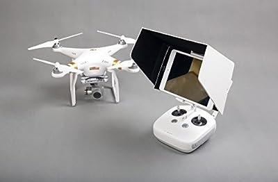 IW7-UK 7 Inch iPad mini SunShade Sun Hood White for DJI Phantom 3 Professional Advanced Standard DJI Inspire 1 3DR Solo