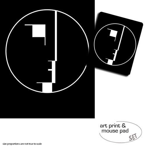 Geschenkset: 1 Poster Kunstdruck (50x40 cm) + 1 Mauspad (23x19 cm) - Oskar Schlemmer, Staatliches...