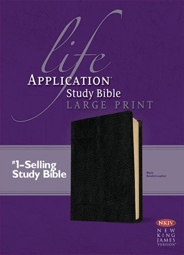 Life Application Study Bible: New King James Version, Black Bonded Leather