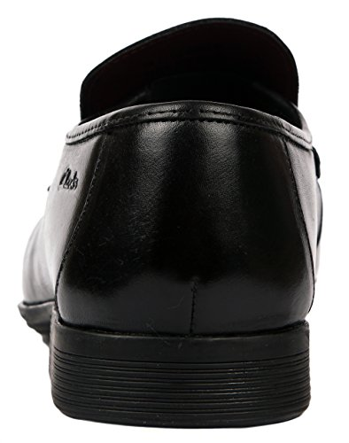 Clarks Ferro Step 20354176 Herren Slipper Schwarz (Black Leather)