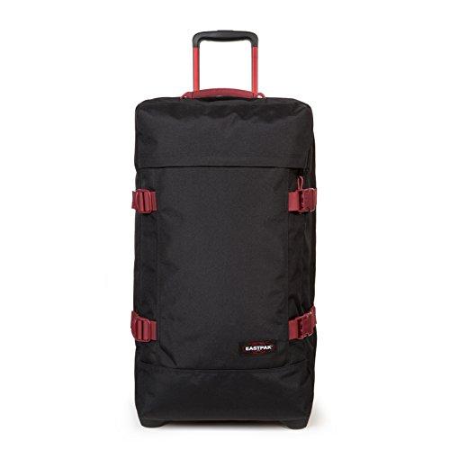 Eastpak Tranverz M Valise, 67 cm, 78 L, Noir (Black-Red)
