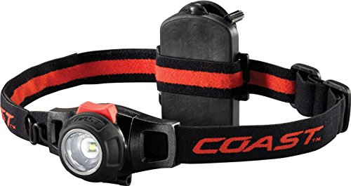 COAST lampe frontale lED hL7 mise au point possible (3 x aAA/micro coast_hl7