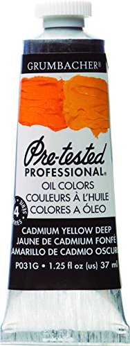 Alvin GBP031GB Oil Cad-bar Dp Yellow 37ml -