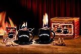 Feuerzangentasse 2er-Set, black - premium