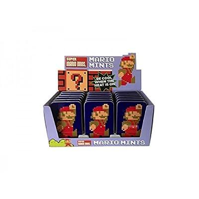 Boston America - Bonbons Nintendo - 1 boite Mario 8-bit Menthe - 0611508174157