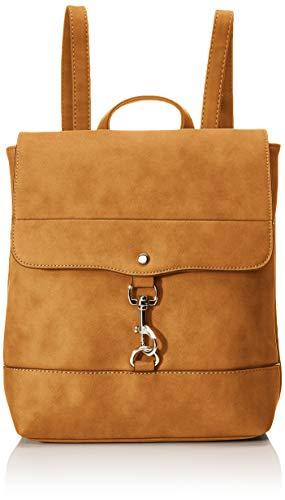 TOM TAILOR Rucksack Damen Fria, Braun (Cognac), 26.5x28x9.5 cm,  TOM TAILOR Rucksackhandtasche, Damenrucksack,handtasche rucksack damen