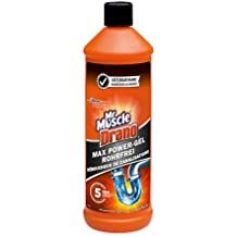 Mr Muscle Drano Max Power-Gel Rohrfrei, 1er Pack (1 x 1 l)