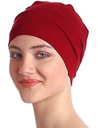 Unisex Essential algodón interior Caps para Chemo, pérdida de pelo | sueño Caps