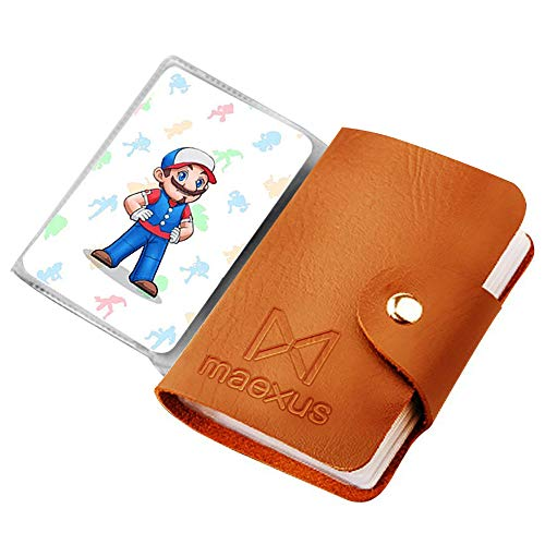 Game Cards For Mario Kart 8 Deluxe Compatible with Nintendo SWITCH/WII U Free Elegant Card Holder ()