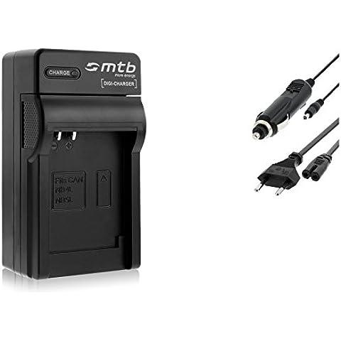 Cargador (Coche/Corriente) para NB-4L / Canon Ixus 30 40 50.../ Ixy / Powershot SD30 SD40...
