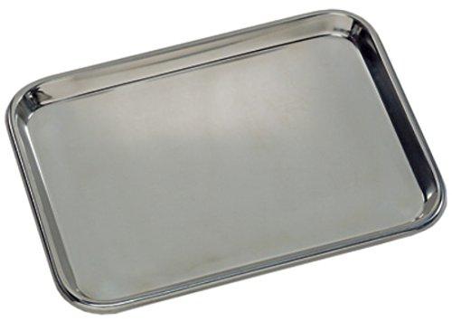 grafco 3261Stange flach Typ Instrument Tablett, Edelstahl, 13-5/20,3cm X 9-3/10,2cm X 5/20,3cm