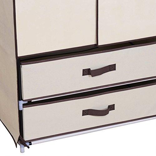 preisvergleich woltu ss5022be kleiderschrank mit fl gelt r willbilliger. Black Bedroom Furniture Sets. Home Design Ideas