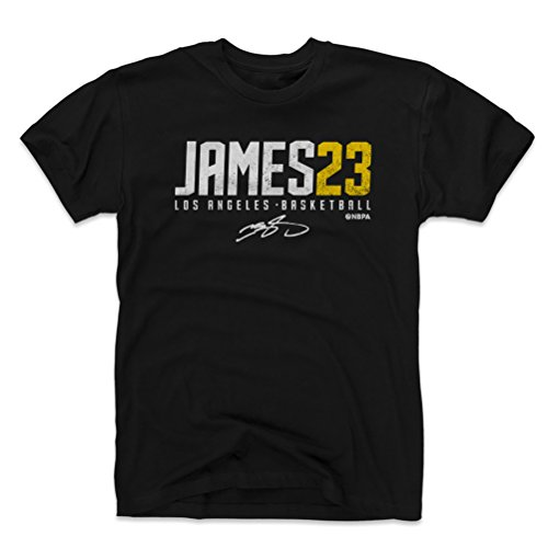 Level 500 Lebron James Shirt - Los Angeles Basketball Herren Apparel - Lebron James James23, Herren, Schwarz, Small