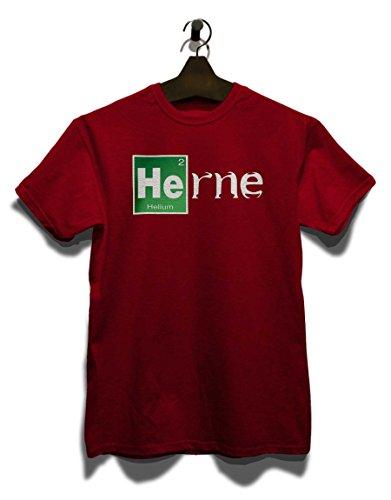 Herne T-Shirt Bordeaux