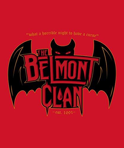 -- Belmont Clan - Vampire Hunters -- Girls T-Shirt auch im Unisex Schnitt Rot