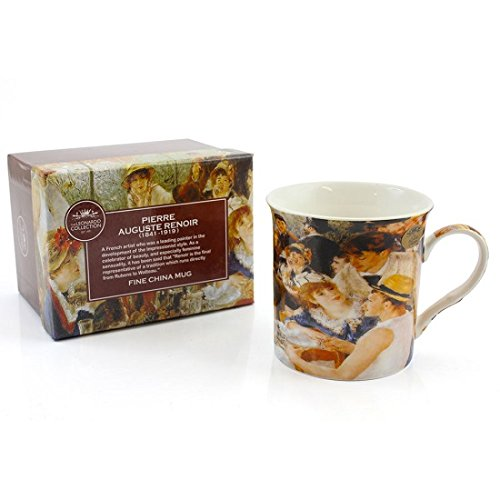 Leonardo Collection Renoir Dejeuner Party Becher, Bone China Porzellan, mehrfarbig China-tee-party