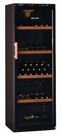 brandt cb 1781 cave vin de service 173 bouteilles noir gros lectrom nager. Black Bedroom Furniture Sets. Home Design Ideas