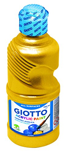 Giotto 533800 tempera acrilica, 250 ml, oro