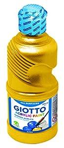 Giotto-0533800 Témpera acrílica, 250 ml, Color Oro, 500 ml (533800)