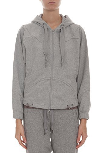 Adidas by Stella McCartney Run Zip Pull à capuche pour femme Gris - Gris