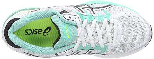 Asics Gel-Pulse 7, Chaussures de Running Compétition Femme Blanc (white/silver/flash yellow 0193)