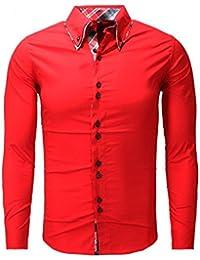 Carisma - Chemise fashion homme Carisma rouge