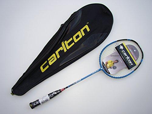 Badminton Schläger Carlton Powerblade Superlite Badmintonschläger (Blue Deluxe Edition)