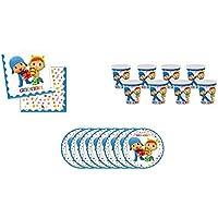 ALMACENESADAN 0492, Pack Desechables Pocoyo y Nina para Fiestas y cumpleaños; 8 Platos 23