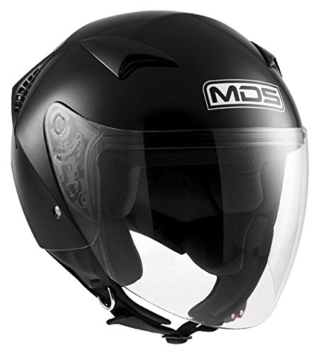 AGV Helmets 4002a4d0_001 G240 MDS Casco Jet E2205 Solid, Nero, L