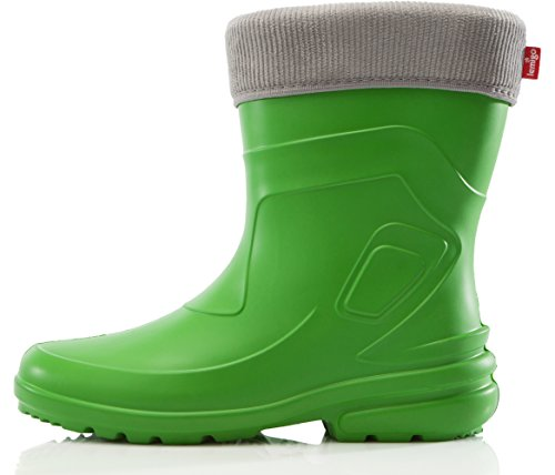 Lemigo Lightweight EVA Thermo Rubber Wellington Boots Jessy - Best light weight wellies and also very affordable with removable liner