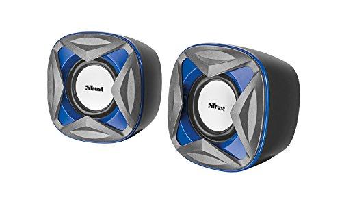 Trust Xilo - Altavoces de PC 2.0 compactos de 8 W, alimentación...