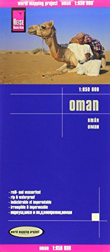 Landkarte Oman (1 : 850 000)