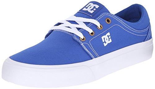 DC Shoes Trase Tx, Baskets mode homme Blue/White