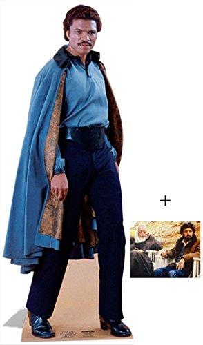 Lando Calrissian von Star Wars Lifesize Lebensgrosse Pappaufsteller mit 25cm x 20cm foto