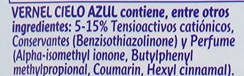 VERNEL Suavizante Concentrado Azul Botella 57 lavados