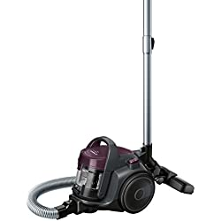 Bosch Electroménager BGC05AAA1 GS05 Cleann'n Aspirateur sans Sac, Classe A, 700 W - 1,5 liters, Violet/Gris