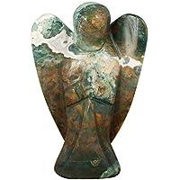 CRAFTSTRIBE Indianer Achat Stein geschnitzt schwerer Engel Reiki psychische spirituelle Edelsteinheilung preisvergleich bei billige-tabletten.eu