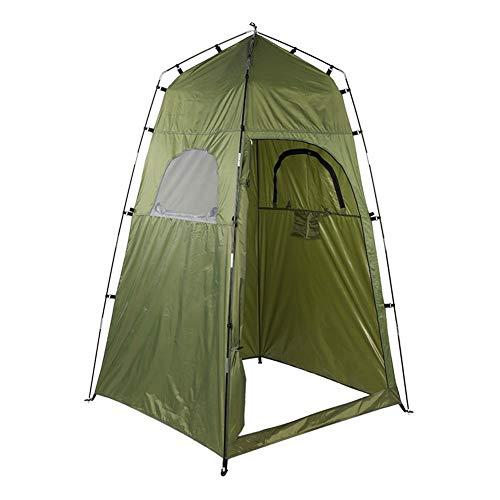 Outdoor Camping Pop Up Toilettenzelt, Tragbare Baden Umkleidezelt Duschzelt Lagerzelt Angeln Abstellraum Zelte 120 * 120 * 195cm - Zwei Breite Wickelkommode