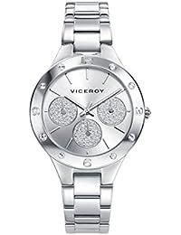 04967882ed9b Amazon.es  relojes viceroy - Plateado   Relojes de pulsera   Mujer ...
