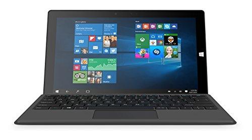 Linx 12V32 12-Inch Tablet with Keyboard (Intel Atom, 2 GB RAM, 32 GB Storage, Windows 10)