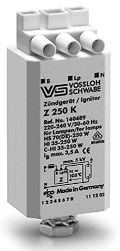 Ersatz-zündgerät Zündgerät (VS Zündgerät Vossloh Schwabe Z250K 35 50 70 100 150 250 Watt HCI HQI SON CDM NAV HIT)