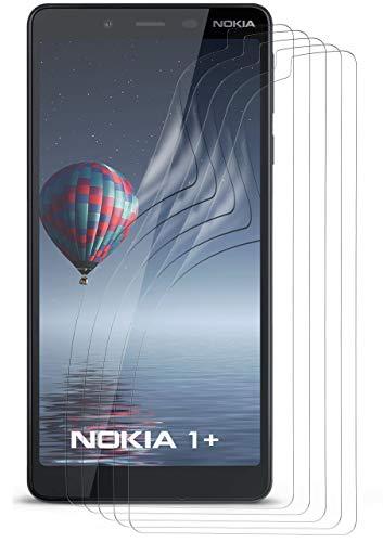 moex 5X Nokia 3.2 Schutzfolie Klar Bildschirm Schutz [Crystal-Clear] Screen Protector Display Handy-Folie Dünn Bildschirmschutz-Folie für Nokia 3.2 Bildschirmfolie